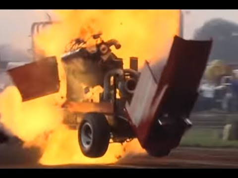 Tractorpulling - Best of Crash