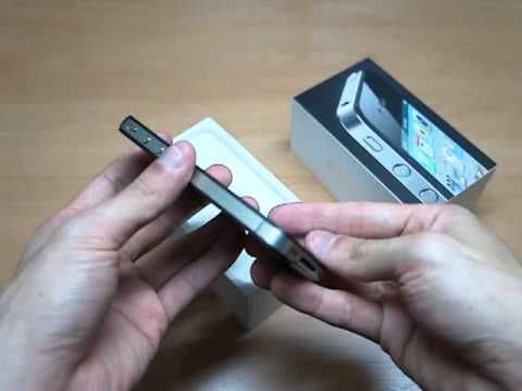 iPhone4 8GB (Black) with iOS5.0 Unboxing (009)