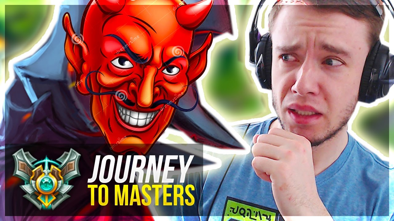 FACING #1 MOST TOXIC PLAYER... D1 PROMOS PLLZZ!! - Journey To Masters #32 S7 - League of Legends