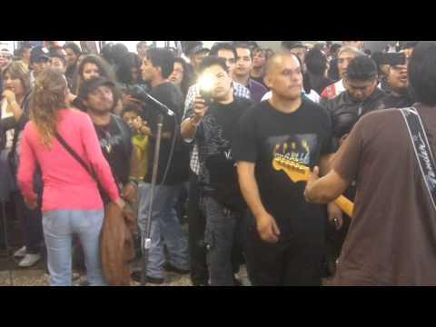 Ritual Viviente - Pensando en ti @ Metro San Lazaro 14ago13 www.rockxmexico.com