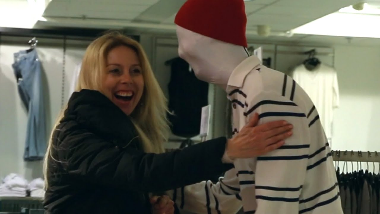 [Mannequin Scare Prank] Video