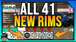 Forza Horizon 4: All 41 New Rims Coming Late Nov! *NEW UPDATE!*