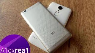 ZTE Blade A1 против Xiaomi Redmi 3, сравниваем примеры фото и видео.