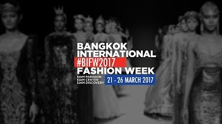 Bangkok International Fashion Week 2017 - ASAVA