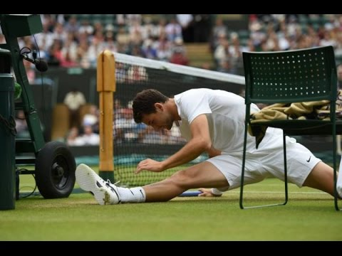 Grigor Dimitrov vs Andy Murray Wimbledon 2014 Quarter-final Part 1