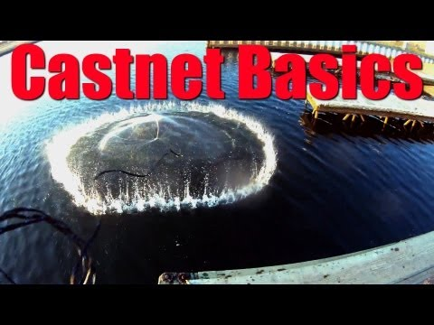 CASTNET BASICS HOW TO Choose a Cast Net for Live Bait