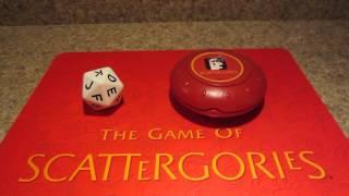 Scattergories Timer (3 minutes)