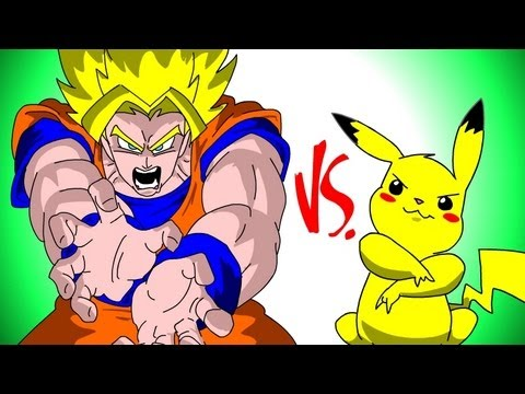 S&ocirc;n G&ocirc; Ku VS Pikachu