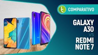 Galaxy A30 vs Redmi Note 7: which midrange delivers better use experience? | Comparison