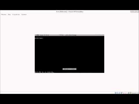 Let's Install Arch Linux / Давайте установим Arch Linux HD