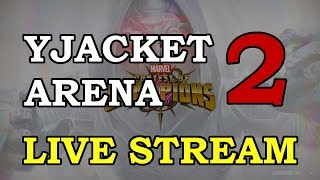 Yellowjacket Arena - Round 2 - Part 2 | Marvel Contest of Champions Live Stream