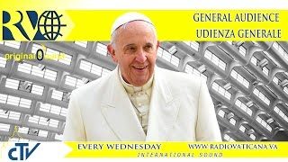 Pope Francis General Audience 2015.05.06