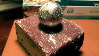 How To Polish A Tin Foil Ball Without A Hammer