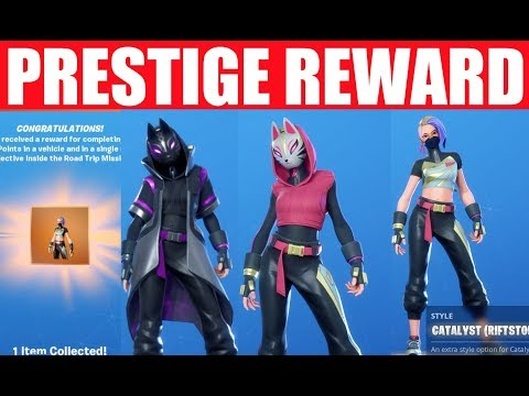 Complete Road Trip Prestige Mission & Rumble Royale Prestige (How to unlock Catalyst Styles) X-lord