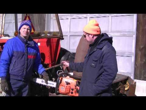 Husqvarna 2100cd - 99 cc Chainsaw Field Test