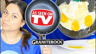 Granite Rock Pan Review - Testing As Seen on TV Products