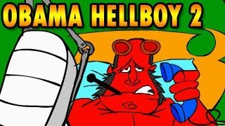 Obama Hellboy 2 game Walkthrough [FULL], Escape Games by Inka Games