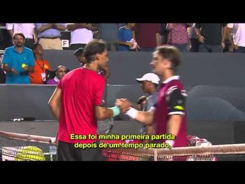 Rafael Nadal Estreia Com Vitória Rio Open E Tem Apoio Da Torcida