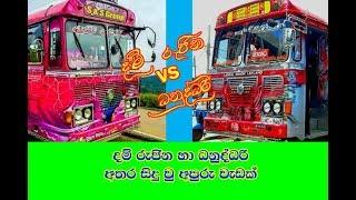 Dam Rajina bus vs Danuddari bus attck stunt Show