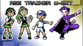 Pokémon Ruby, Sapphire and Emerald - Battle! Trainer [8bit]