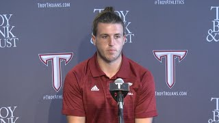 Football - Tyler Sumpter  - TROY TrojanVision News