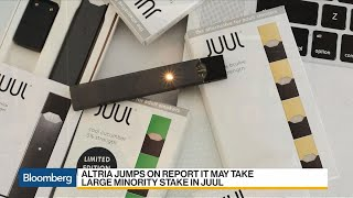 Altria Shares Jump on Reports of Juul Stake Interest