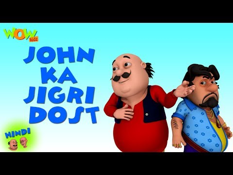 John Ka jigri Dost - Motu Patlu in Hindi - 3D Animation Cartoon for Kids - As on Nickelodeon thumbnail