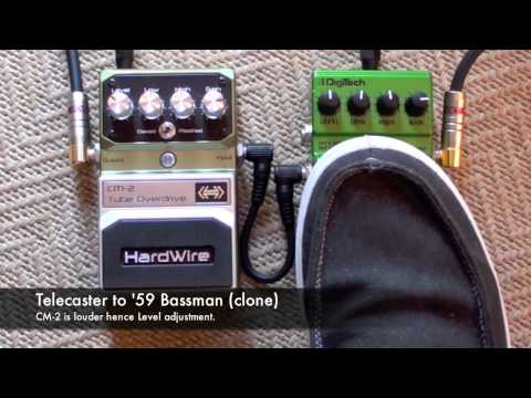Bad Monkey vs CM-2 Tube Overdrive. Telecaster to Bassman