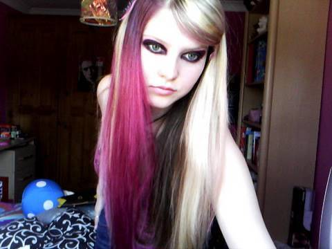 scene kid make up and hair tutorial requested youtube