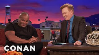 Why Daniel Cormier Almost Cancelled His CONAN Appearance  - CONAN on TBS