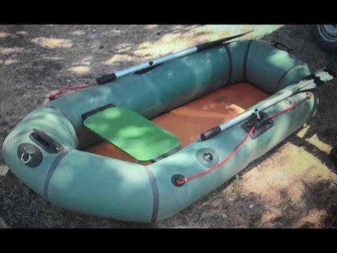 как накачать резиновую лодку монтажной пеной видео
