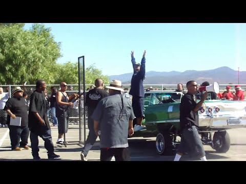 Lowrider Hop contest at Soboba Casino Car Show