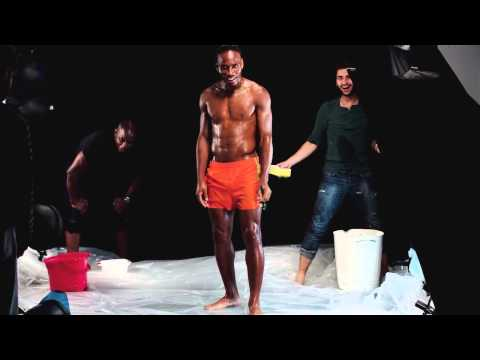 InUndies Men Underwear HOM   Making Of Drogba