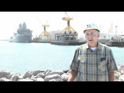 Ingalls Shipbuilding and the Dimension NT 450 Weld Cable Control (WCC) System