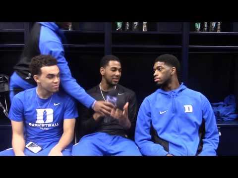 Duke Open Practice: Sweet Sixteen