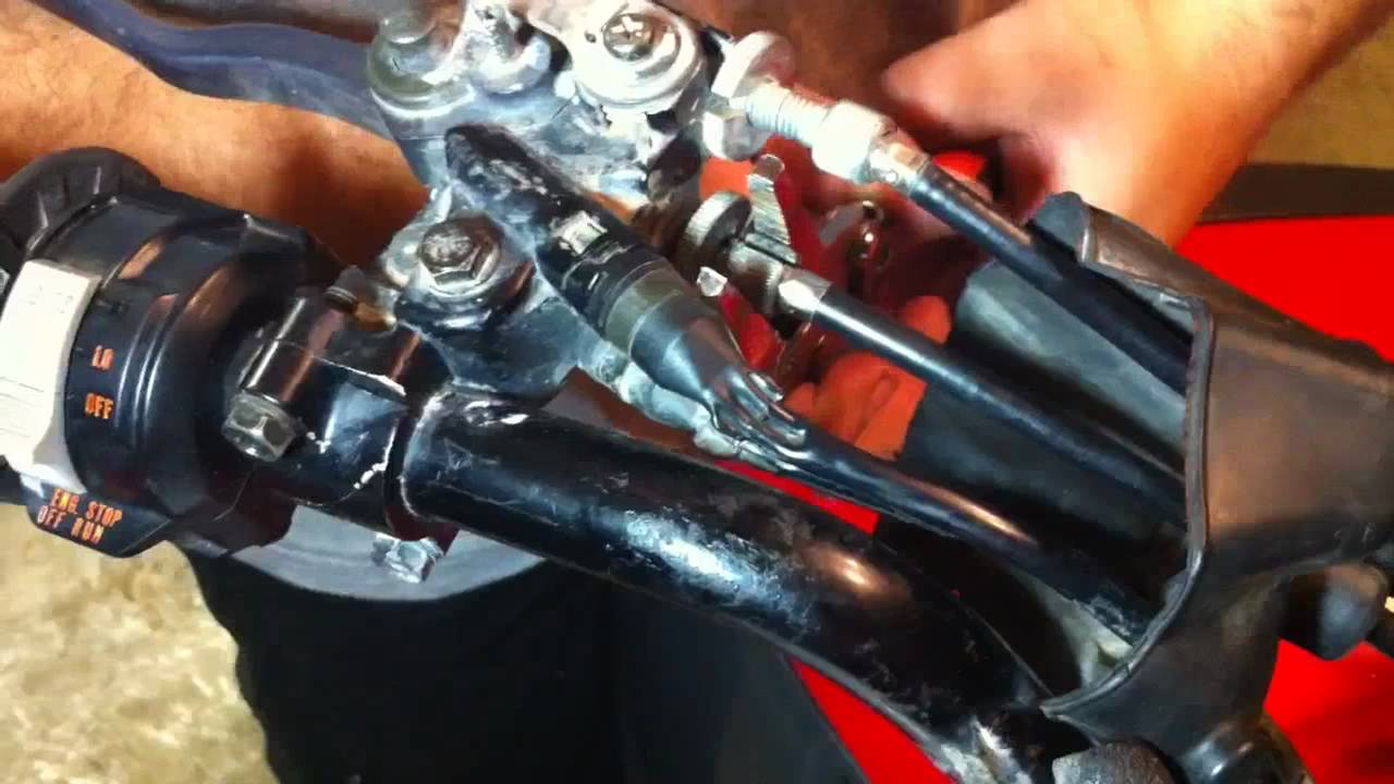 How To Replace The Clutch Cable On A Yamaha Warrior 350