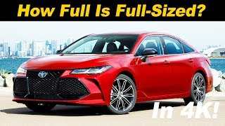 2019 Toyota Avalon Review - The Bigger Snazzier Camry