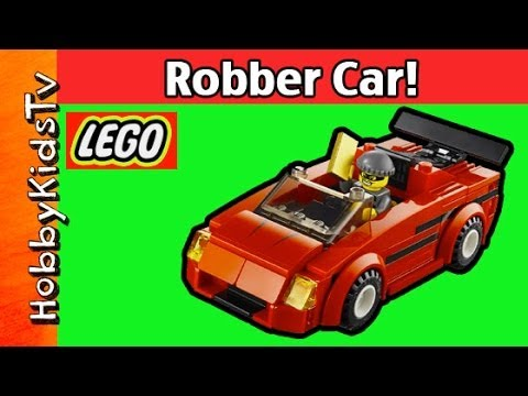 LEGO City Police High Speed Chase 60007 Bad Guy Car Build