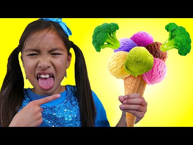 Do You Like Broccoli Ice Cream Song  Wendy Pretend Play Singing Kid Nursery Rhymes