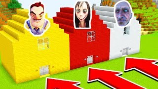 DO NOT CHOOSE THE WRONG HOUSE!(GRANDPA HORROR!,HELLO NEIGHBOUR)/Xbox360/PS4/XboxOne/PE/MCPE)