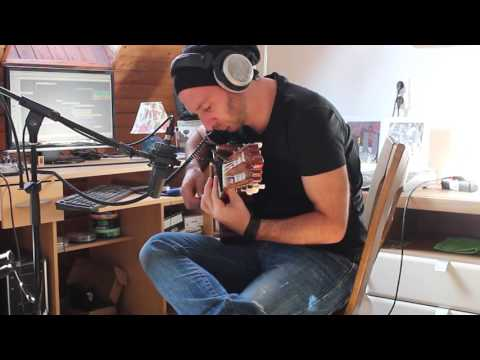 КняZz: Зураб Дзагнидзе записывает партии гитары для альбома «Предвестник» (2015)