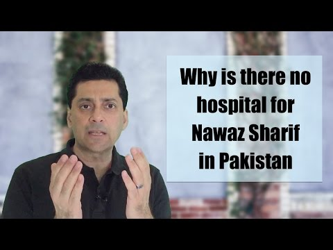 Why did Nawaz Sharif go to London for his operation