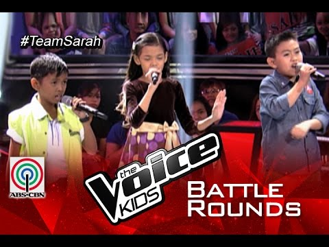 "The Voice Kids Philippines 2015 Battle Performance: ""I Can"" by Joshua vs Zephanie vs Ken Jhon"