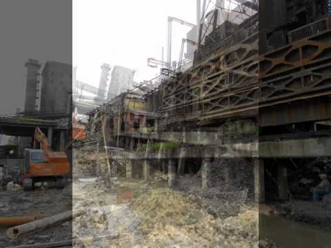 Civil Maintenance Work In Coal Handling Plant...Durgapur,West Bengal.