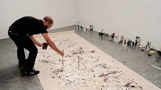 How to paint like Jackson Pollock – One: Number 31, 1950 (1950) | IN THE STUDIO