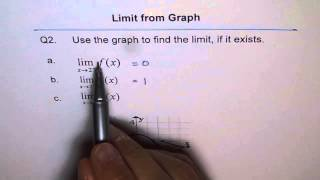 Limit From Graph of discontinuous Function Q2