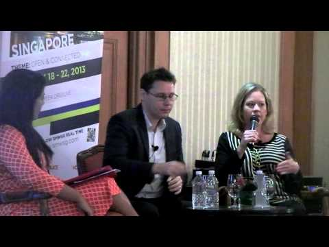 SMW 2013 Day 1  part 1 - Samsung and Google Q & A Update by Robin Stienberg, National Critics Choice