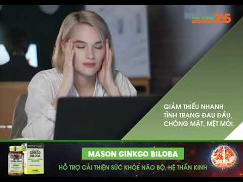 Mason Ginkgo Biloba - Hỗ trợ cải thiện sức khỏe não bộ, hệ thần kinh