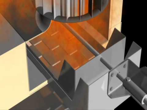 System kontroli przepływu powietrza w piecach obrotowych MIWE air control