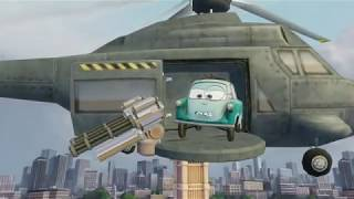Cars 2 The Video Game | Snot Rod - all the Hunter modes on Hard mode |